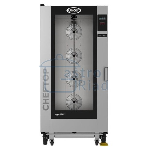 Zobraziť tovar: Konvektomat el. 20xGN1/1, nástrekový, programovateľný, XEVC-2011E1R, UNOX