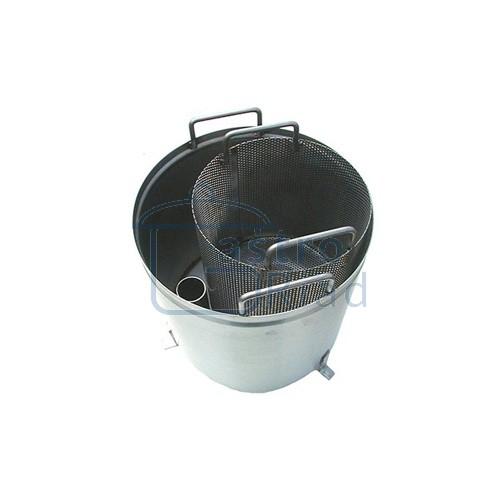 Zobraziť tovar: Lapač šupiek a škrobu, nerezový, LS2N/6