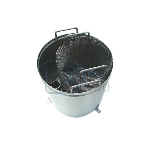 Zobraziť tovar: Lapač šupiek a škrobu, nerezový, LS1N/12,20,40