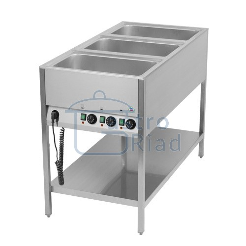 Zobraziť tovar: Pult ohrevný, 3xGN1/1, BMSK-3120