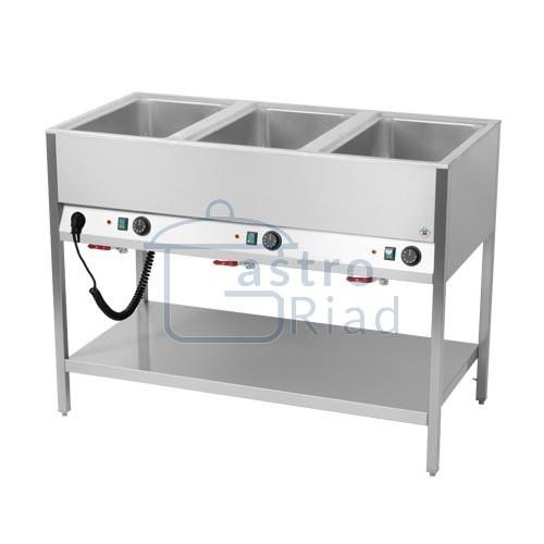 Zobraziť tovar: Pult ohrevný, 3xGN1/1, BMSD-3120