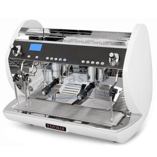 Zobraziť tovar: Kávovar 2 páky, Turbo steamer white, 200káv/h, Carat Display control-2P/TS/WH