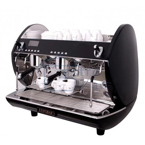 Zobraziť tovar: Kávovar 2 páky, turbo steamer black, 200káv/h, Carat Display control-2P/TS/BL