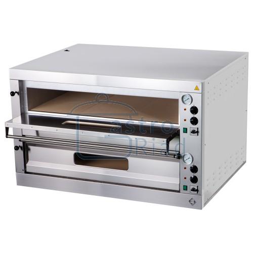 Zobraziť tovar: Pizza pec 2x9, celošamot., mechan. teplomer, P-18