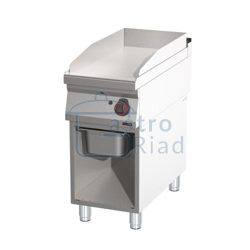 Zobraziť tovar: Platňa smažiaca plyn. hladká chróm., 400/900, FTHC-90/40G