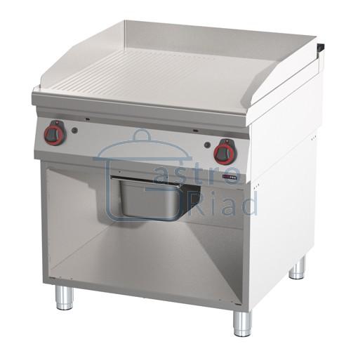Zobraziť tovar: Platňa smažiaca plyn. hladká / ryhovaná chróm., 800/900, FTHRC-90/80G
