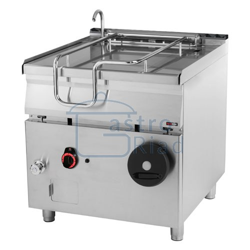 Zobraziť tovar: Panva smažiaca plyn. nerezová 80 l, 800/900, BR-90/80G/N
