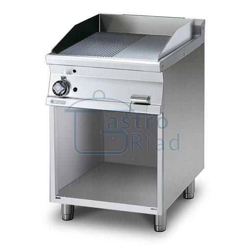 Zobraziť tovar: Platňa smažiaca plyn. hladká / ryhovaná, 600/700, FTLR-76G