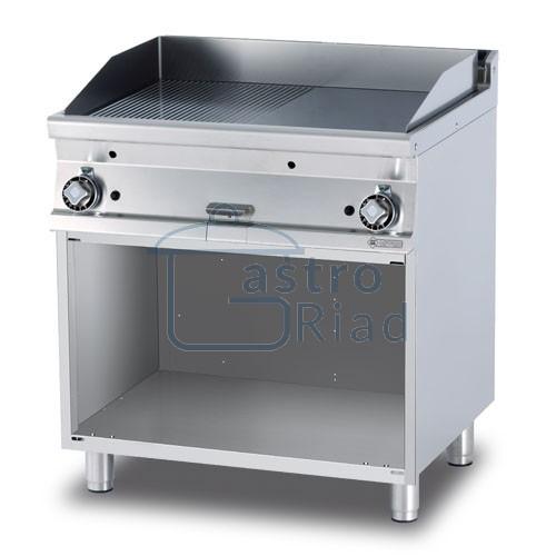 Zobraziť tovar: Platňa smažiaca plyn. hladká / ryhovaná, 800/700, FTLR-78G