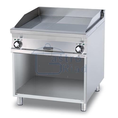 Zobraziť tovar: Platňa smažiaca el. hladká / ryhovaná, 800/900, FTLR-98ET