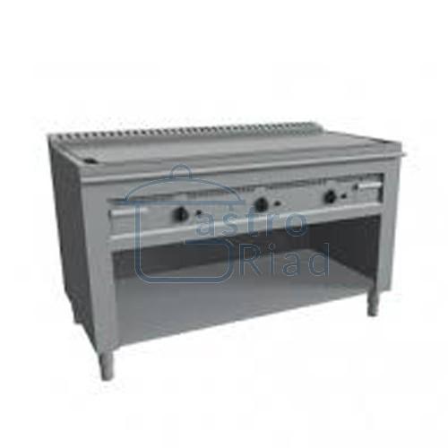 Zobraziť tovar: Platňa smažiaca plyn. hladká nerez, 1600/720, TEP-3/160G