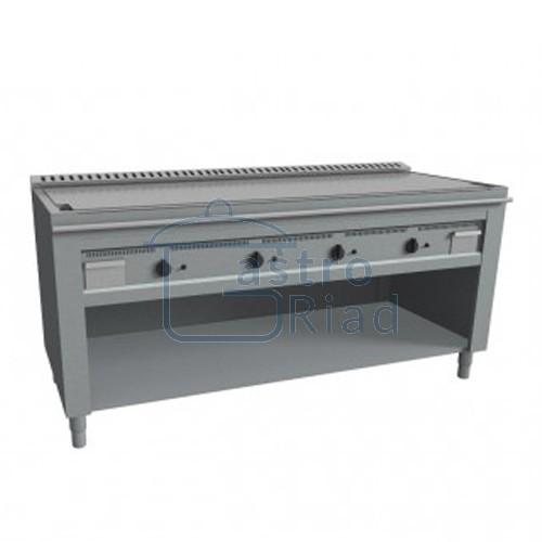 Zobraziť tovar: Platňa smažiaca plyn. hladká nerez, 2000/720, TEP4/200G