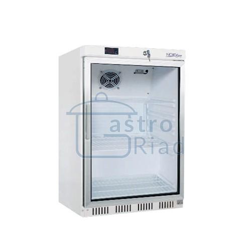 Zobraziť tovar: Chladnička podpult. biela presklená ventilovaná 200 l, HR-200G