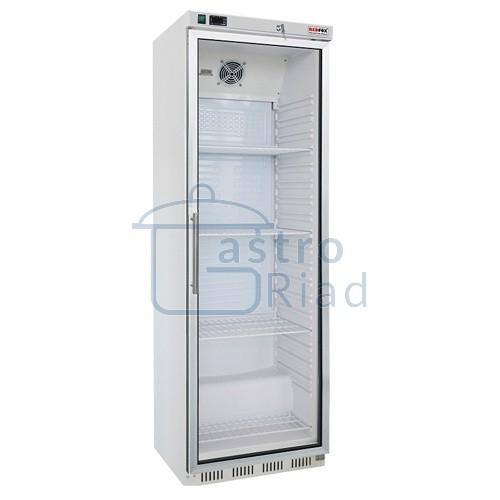 Zobraziť tovar: Chladnička biela presklená ventilovaná 400 l, HR-400G