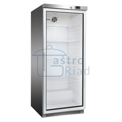 Zobraziť tovar: Chladnička nerezová presklená ventilovaná 570 l, DR-600GS