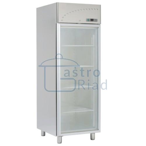 Chladnička nerez. presklená ventil. 700 l