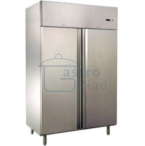 Zobraziť tovar: Chladnička nerezová dvojdverová ventilovaná 1300 l, CN-1300/MBF-8117