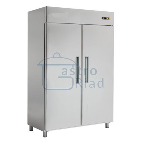 Chladnička nerez. dvojdverová ventil. 1400 l