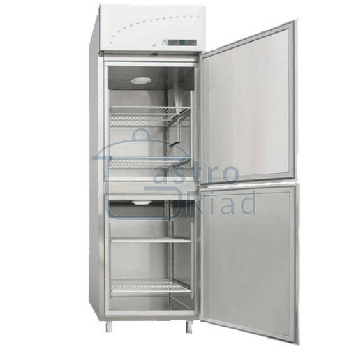 Zobraziť tovar: Chladnička/mraznička nerezová ventilovaná, 560 l, LM-2350