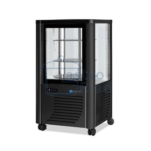 Zobraziť tovar: Vitrína chladiaca, otočné police, tmavá, 230 l, ERG-230/G