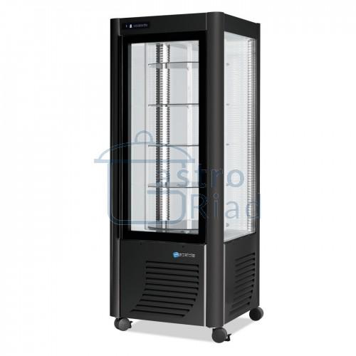 Vitrína chladiaca, otočné police, 400 l