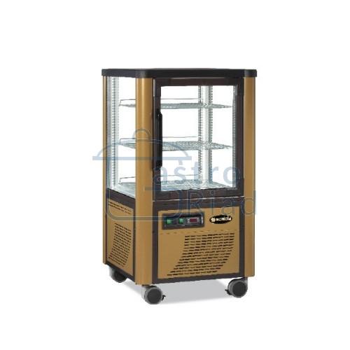 Zobraziť tovar: Vitrína chladiaca, roštové police, zlatá, 230 l, ERF230/Z