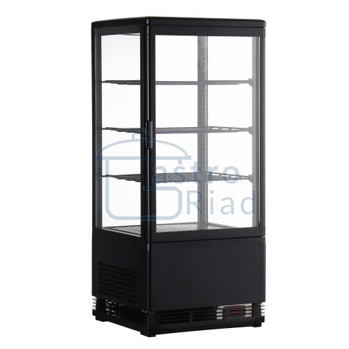 Zobraziť tovar: Vitrína chladiaca pultová 78 l, čierna, RT-78