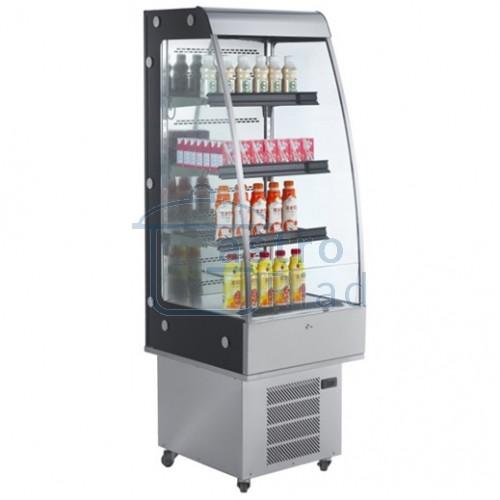 Vitrína chladiaca prístenná nerezová, 250 l
