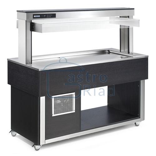 Zobraziť tovar: Vozík chladiaci 4xGN1/1, TR-LIME 4