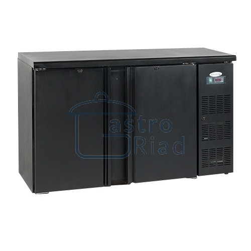 Zobraziť tovar: Stôl chladiaci barový, 2 x dvere, antracit, CBC210