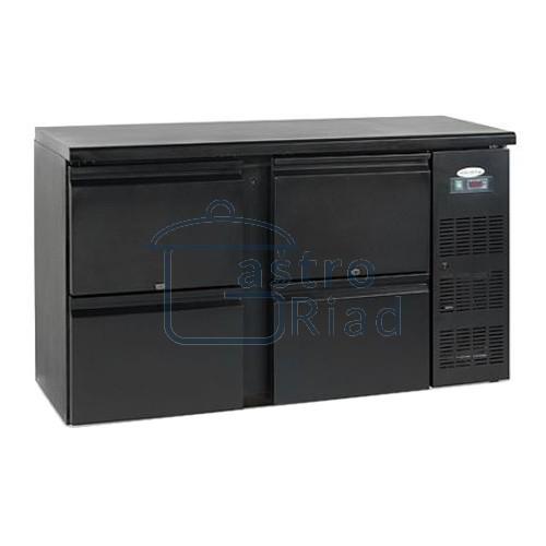Zobraziť tovar: Stôl chladiaci barový, 4 x zásuvka, antracit, CBC-240
