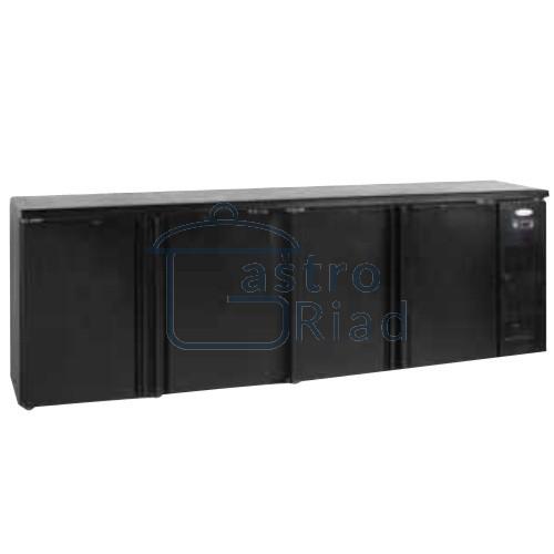 Zobraziť tovar: Stôl chladiaci barový, 4 x dvere, antracit, CBC-410