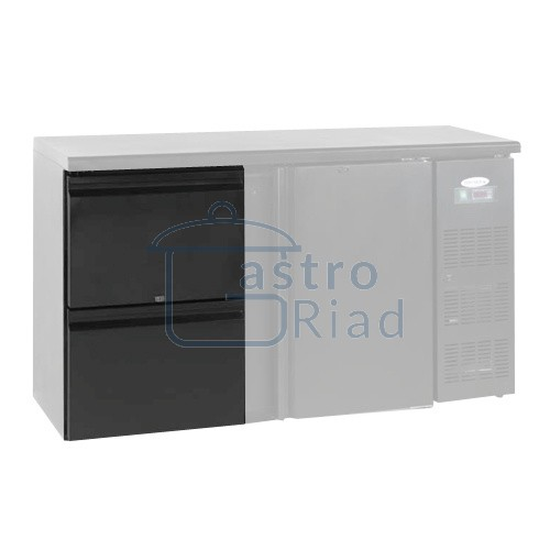 Zobraziť tovar: Zásuvkový set 2 x 1/2 k chladiacim barovým stolom, CBC DRAW