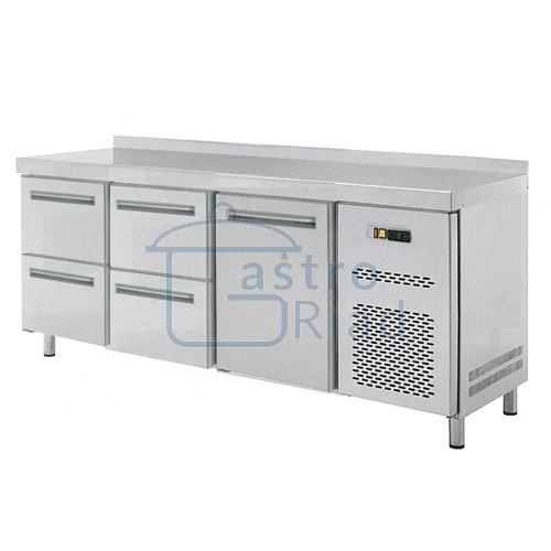 Zobraziť tovar: Stôl chladiaci, 1 x dvere, 4 x zásuvka, RT-3D-1D4Z
