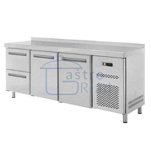 Zobraziť tovar: Stôl chladiaci, 2 x dvere, 2 x zásuvka, RT-3D-2D2Z