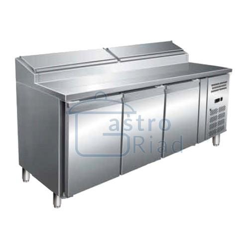 Zobraziť tovar: Stôl chladiaci snack, 3 x dvere, MTPZ-3D