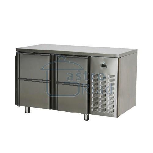 Zobraziť tovar: Stôl chladiaci, 4 x zásuvka, SCH-2D-4Z