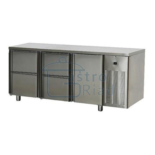 Zobraziť tovar: Stôl chladiaci, 1 x dvere, 4 x zás., SCH-3D-1D4Z