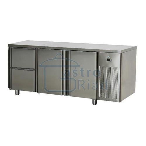 Stôl chladiaci, 2 x dvere, 2 x zás.