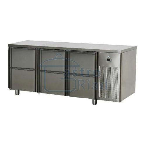 Zobraziť tovar: Stôl chladiaci, 6 x zásuvka, SCH-3D-6Z