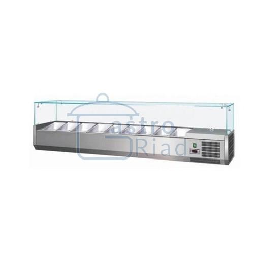 Zobraziť tovar: Vitrína chladiaca 9xGN1/4, MCH-4180
