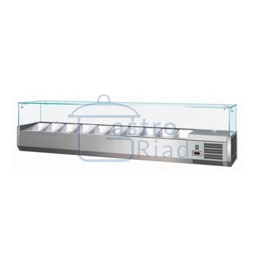 Zobraziť tovar: Vitrína chladiaca 10xGN1/4, MCH-4200
