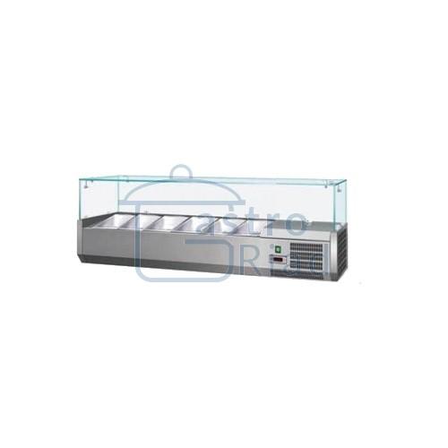 Zobraziť tovar: Vitrína chladiaca 6xGN1/4, VCH-4140