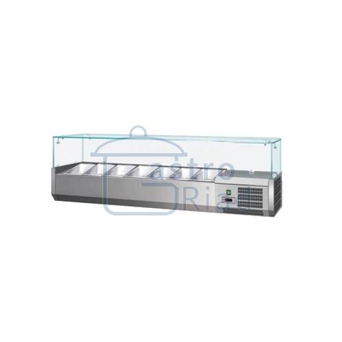 Zobraziť tovar: Vitrína chladiaca 7xGN1/4, VCH-4150/VCH-150