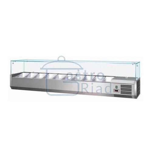 Zobraziť tovar: Vitrína chladiaca 10xGN1/4, VCH-4200