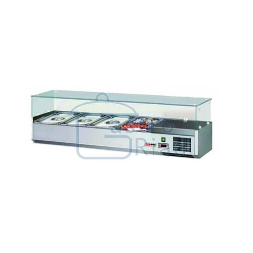 Zobraziť tovar: Vitrína chladiaca 4xGN1/3, VCH-3120/VSCH-120
