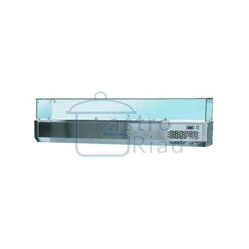 Zobraziť tovar: Vitrína chladiaca 7xGN1/4, VCH-160