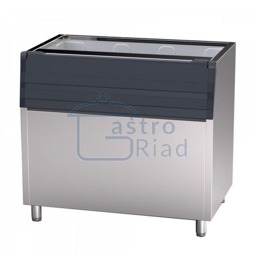 Zobraziť tovar: Zásobník na ľad,nerez,350kg, IB350