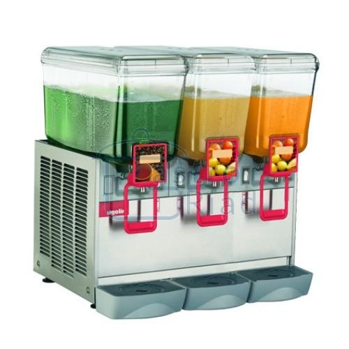 Zobraziť tovar: Chladič nápojov 3x20 l, DELUXE-3/20