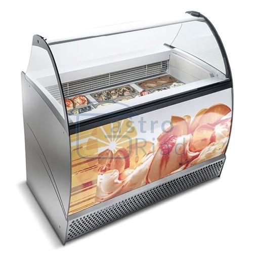 Zobraziť tovar: Vitrína zmrzlinová 10 x GN, ISABELLA LX-140